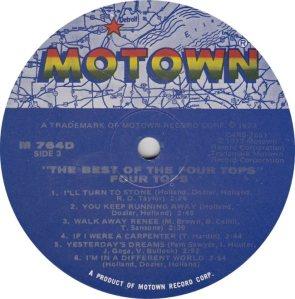MOTOWN 764 - FOUR TOPS 3