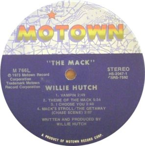 MOTOWN 766 - HUTCH W 4