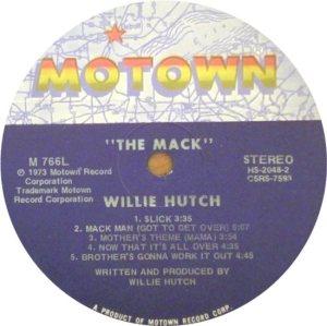 MOTOWN 766 - HUTCH W 5
