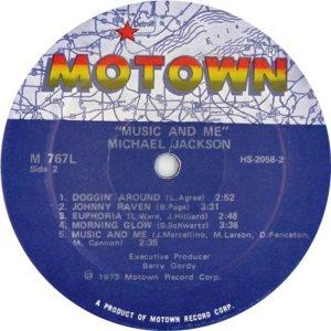 MOTOWN 767 - JACKSON MICHAEL 4