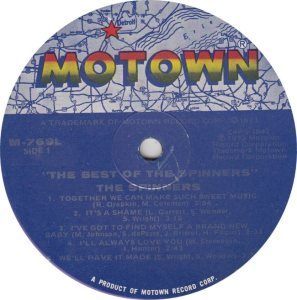 MOTOWN 769 - SPINNERS