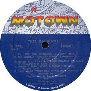 MOTOWN 771 - HOWELL B