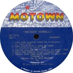 MOTOWN 771 - HOWELL C