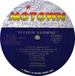 MOTOWN 774 - SEVERIN BROWNE C