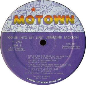 MOTOWN 775 - JACKSON JER C