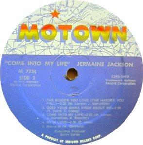 MOTOWN 775 - JACKSON JER D