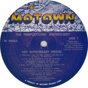 MOTOWN 782 - TEMPS 1