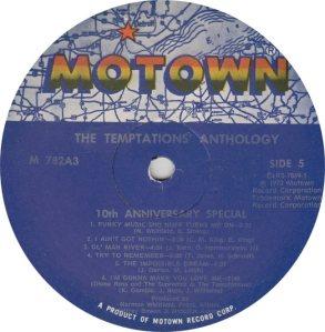 MOTOWN 782 - TEMPS 5