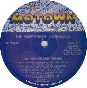 MOTOWN 782 - TEMPS 6