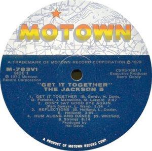MOTOWN 783 - JACKSON 5 B