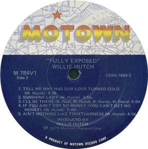 MOTOWN 784 - HUTCH D