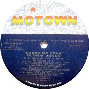 MOTOWN 790 - JONE G D