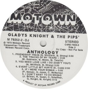 MOTOWN 792 - KNIGHT PIPS 3