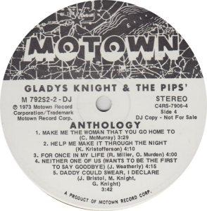 MOTOWN 792 - KNIGHT PIPS 4