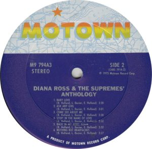 MOTOWN 794 - SUPREMES 2