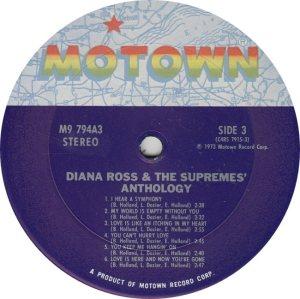 MOTOWN 794 - SUPREMES 3