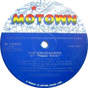 MOTOWN 796 - CRUSADERS C