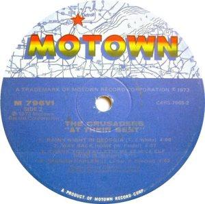 MOTOWN 796 - CRUSADERS D
