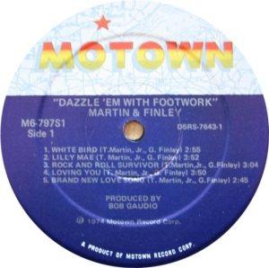 MOTOWN 797 - MARTIN FINLEY C