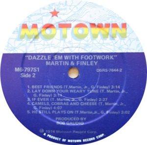 MOTOWN 797 - MARTIN FINLEY D
