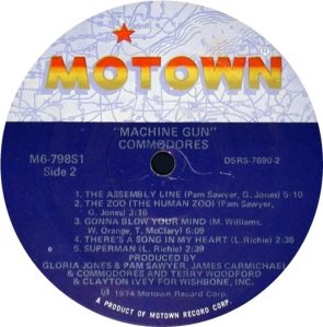 MOTOWN 798 - COMMODORES D