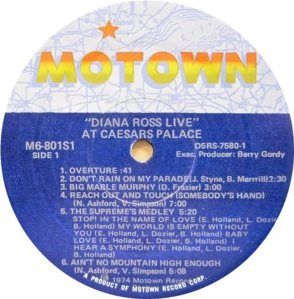 MOTOWN 801 - ROSS C