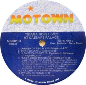 MOTOWN 801 - ROSS D