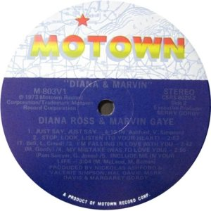 MOTOWN 803 - GAYE AND ROSS C