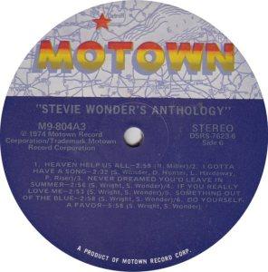 MOTOWN 804 - WONDER 6