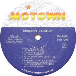 MOTOWN 805 - CARROLL B