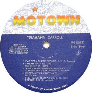 MOTOWN 805 - CARROLL C