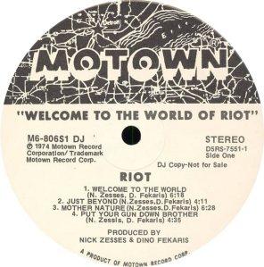 MOTOWN 806 - RIOT B