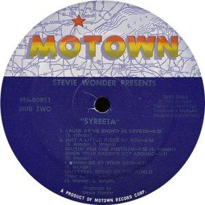 MOTOWN 808 - SYREETA D