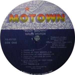 MOTOWN 811 - HUTCH B