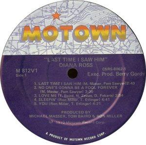 MOTOWN 812 - ROSS C
