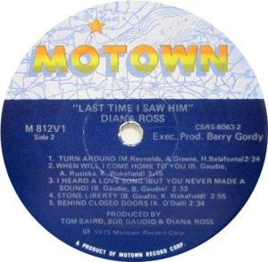 MOTOWN 812 - ROSS D