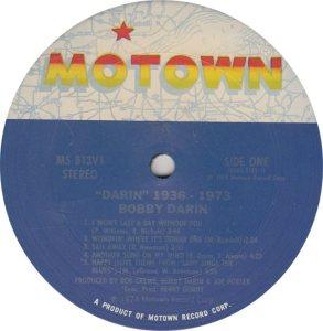 MOTOWN 813 - DARIN