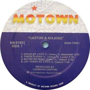 MOTOWN 814 - CASTON MAJORS C