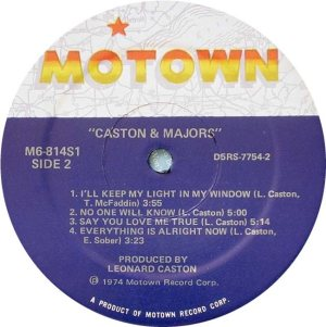 MOTOWN 814 - CASTON MAJORS D