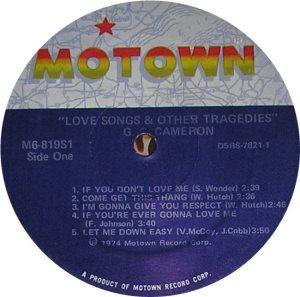 MOTOWN 819 - CAMERON C
