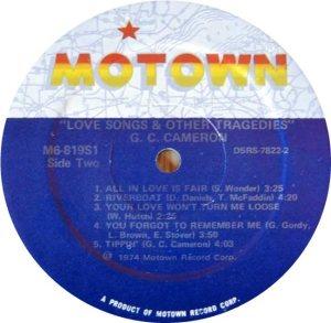MOTOWN 819 - CAMERON D