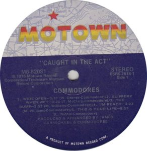 MOTOWN 820 - COMMODORES