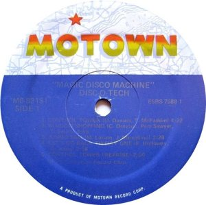 MOTOWN 821 - MAGIC DISCO C