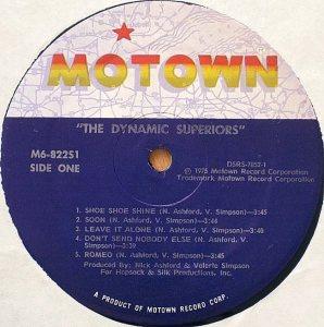 MOTOWN 822 - DYN SUPERIORS C