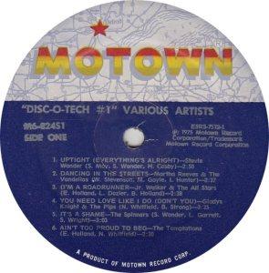 MOTOWN 824 - VARIOUS