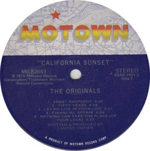 MOTOWN 826 - ORIGINALS