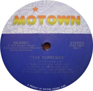 MOTOWN 828 - SUPREMES - C