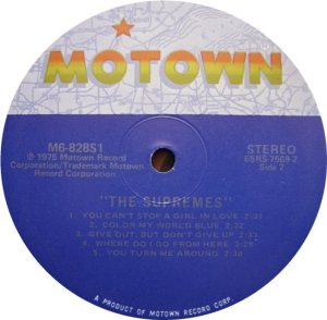 MOTOWN 828 - SUPREMES - D