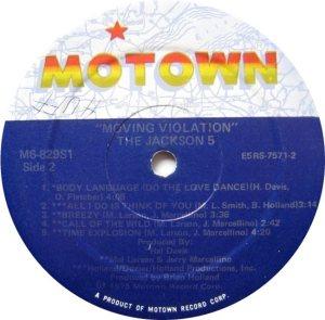 MOTOWN 829 - JACKSON 5 - D