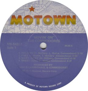 MOTOWN 848 - COMMODORES